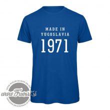 Majica barvna tisk 1971 Jugoslavija