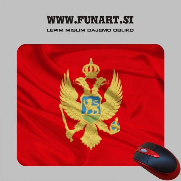Podloga za miško po naročilu Montenegro, Črna gora