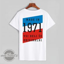 Majica tisk Jugoslavija Abraham