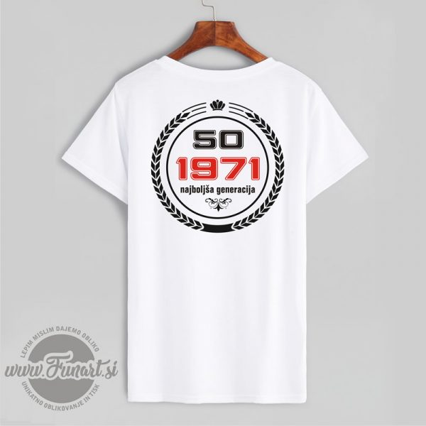 Majica generacija 1971